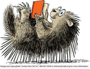 Porcupine reading_copyright embedded